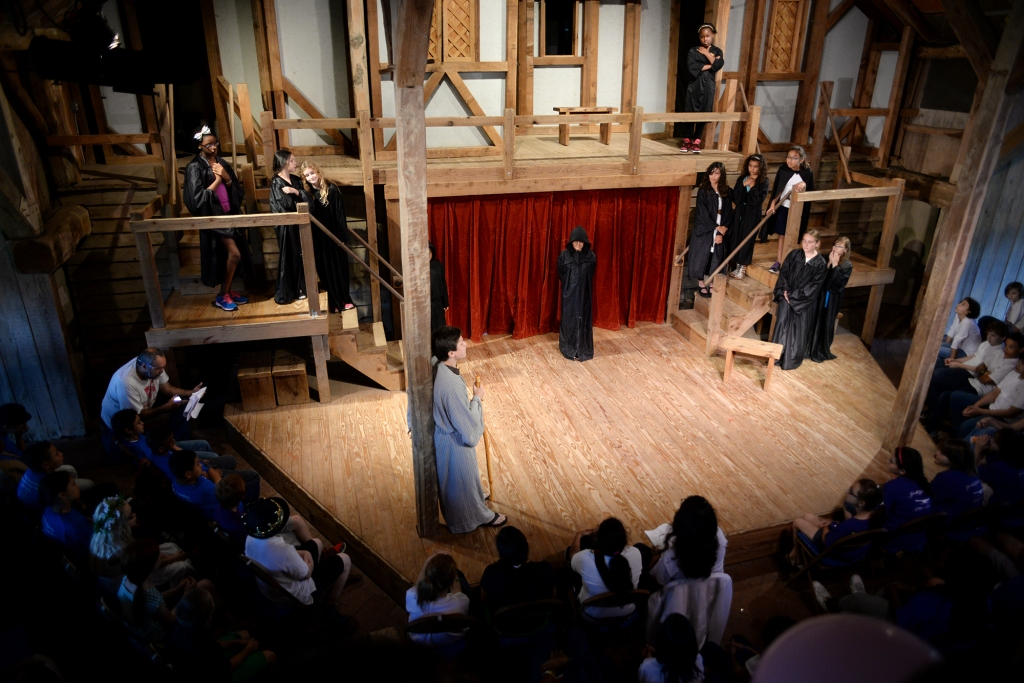 Shakespear at Winedale, UT, theater